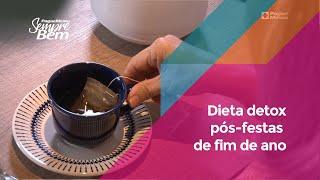 Dieta Detox Pós-festas De Fim De Ano