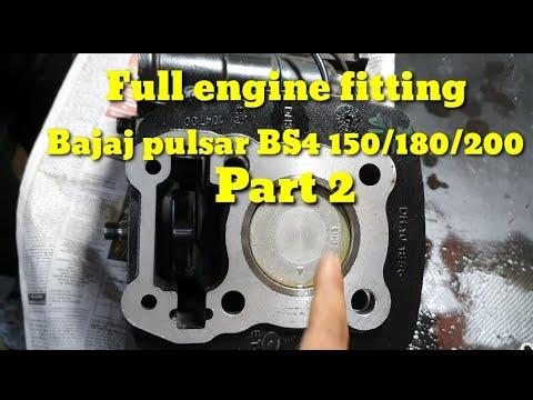 BAJAJ PULSAR BS4 150/180/200Full engine fitting part 2