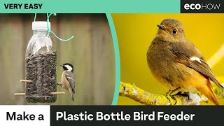 Eco How: How to make a Bird Feeder from a Plastic Bottle