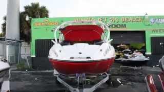 6. 2007 Sea-Doo Speedster 200 - 430 hp Supercharger Twin Engine Jet Boat W/ Trailer video 4