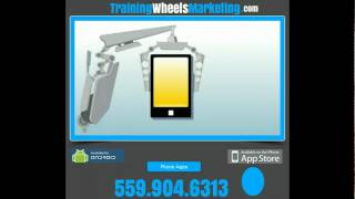 Training Wheels Marketing App YouTube video