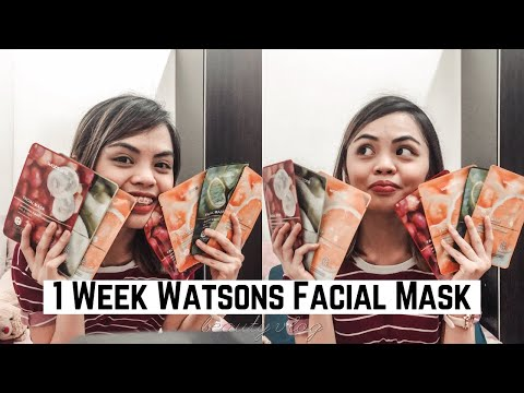 1 Week Watsons Facial Mask