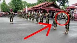 Pemalang Indonesia  city photo : HANYA SATU JARI ! Marinir mampu putarkan senjata SS1 seberat 3,5kg.