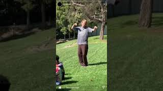 "Joba dancing to ""No Halo"" (Brockhampton)"