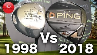 Video 1998 Golf Driver VS 2018 Golf Driver (20 Year Test) MP3, 3GP, MP4, WEBM, AVI, FLV September 2018