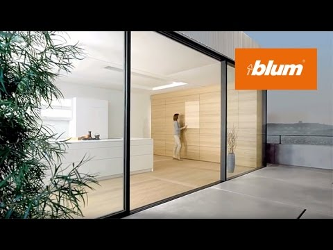 Blum hardware for handle-less furniture - infinite possibilities