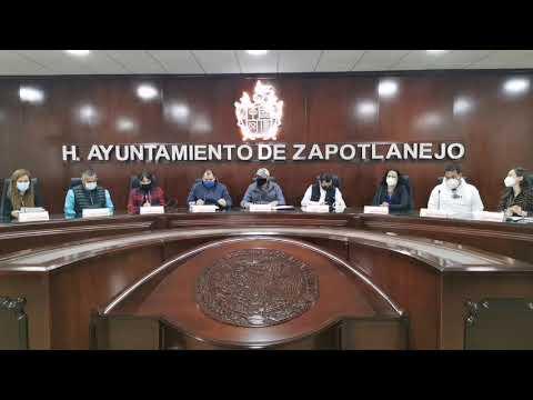 Sesión de ayuntamiento No. 60 21 de enero de 2021
