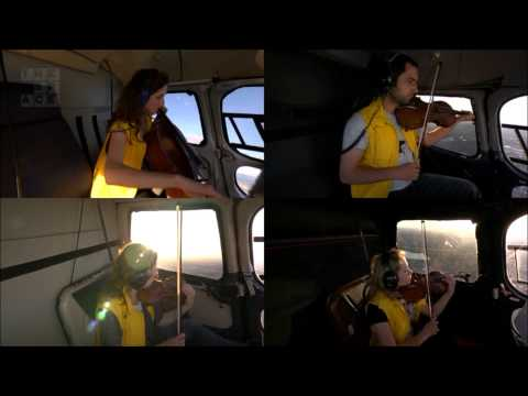 Live Music Show - Helicopter String Quartet by Karlheinz Stockhausen