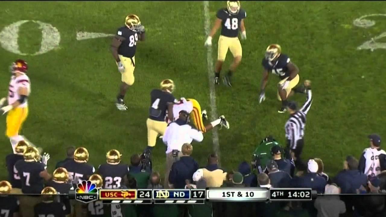 Robert Woods vs Utah, Cal, Notre Dame, Oregon, UCLA (2011)