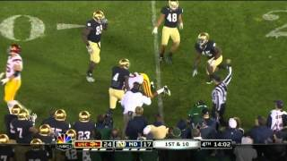 Robert Woods vs Utah, Cal, Notre Dame, Oregon, UCLA (2011)