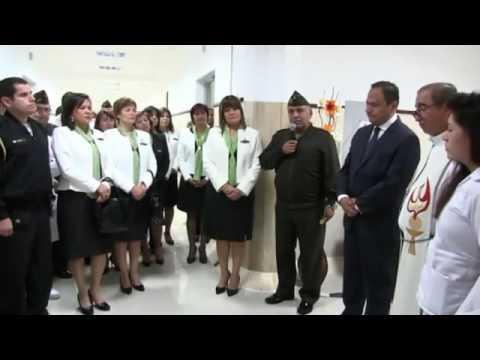 Ministro de Defensa inaugura ambientes remodelados en el HMC