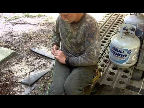 Madison Parker - Madison demonstrates how to make a bow and drill using all natural construction.