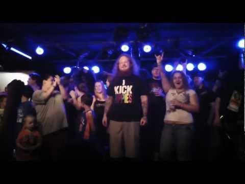 SWEPT ASIDE performing at Waynestock at The Santa Fe Saloon in Salina, KS  05/06/11