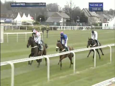 aintree - Sprinter Sacre makes it his ninth consecutive chase victory. This time with an impressive win over Cue Card in the 2013 John Smith's Melling Chase on day two...