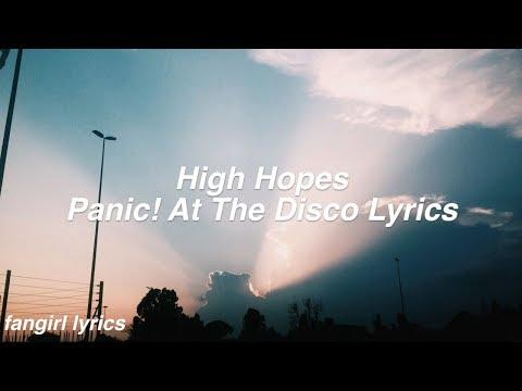 Video High Hopes || Panic! At The Disco Lyrics download in MP3, 3GP, MP4, WEBM, AVI, FLV January 2017