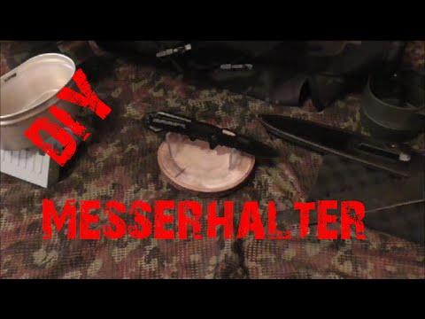 DIY MESSERHALTER | Knife Holder | HD+