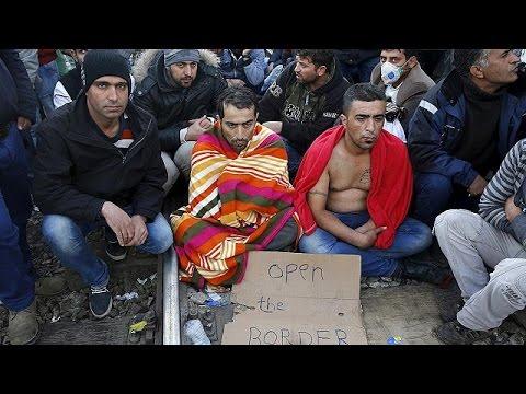 ΠΓΔΜ: Απεργία πείνας από εγκλωβισμένους μετανάστες