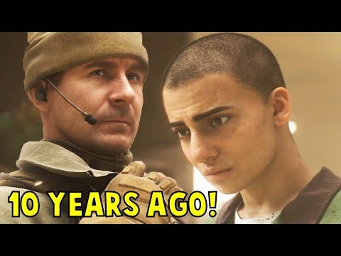 Young Captain Price Meets Farah for the First time - Call of Duty: Modern Warfare (CoD 2019)