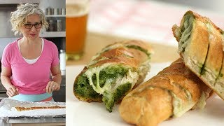 Pull-Apart Cheesy Pesto Bread - Everyday Food with Sarah Carey by Everyday Food
