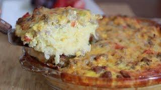 Sausage Hash Brown Casserole Recipe - Brunch Anyone?