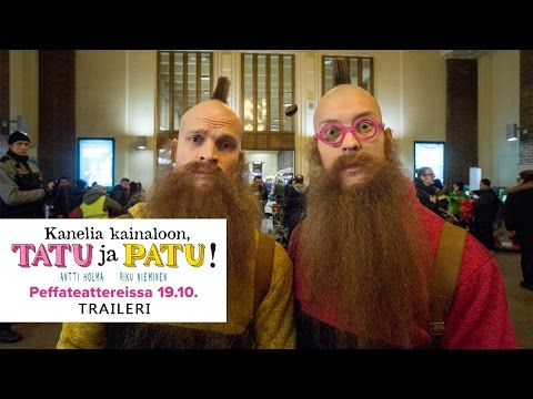 KANELIA KAINALOON, TATU JA PATU! elokuvateattereissa 19.10. (trailer 2)
