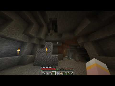 Minecraft Season 1 Episode 3: Digging Straight Down.
