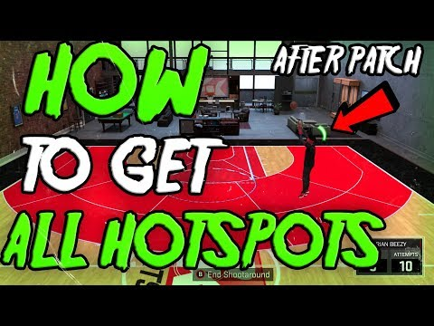 NBA 2K18 - HOW TO GET ALL HOTSPOTS IN 3 GAMES!! (EASY TUTORIAL) AFTER PATCH