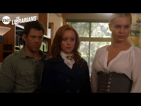 The Librarians: Finish Story - Season 1 Ep.6 [CLIP] | TNT