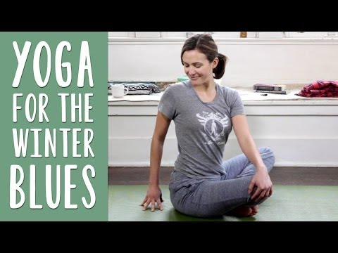 yoga - Adriene guides this 30 min at home sequence for all levels. Yoga to Beat the Winer Blues is great for anyone who wants to stir up the energetic body and stre...