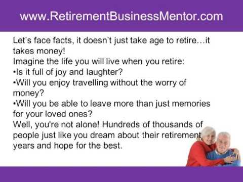 Retirement Business ideas – Retirement Home Business – Retirement business Opportunities