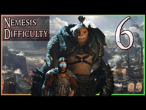 SHADOW OF WAR   Nemesis Difficulty (Hard Mode)   Full Story Playthrough - Part 6