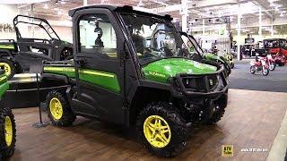 9. 2018 John Deere Gator XUV 835 M Utility ATV - Walkaround - 2017 Toronto ATV Show