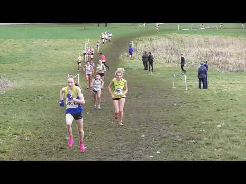 Under 20 Women South of England Cross Country Championships 26012019