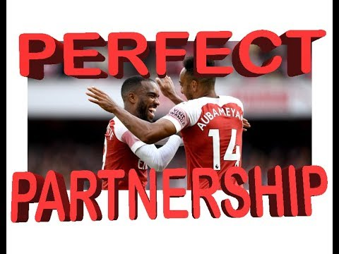 Aubameyang And Lacazette 18/19 Goals And Magic Moments