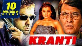 Video Kranti (2002) Full Hindi Movie | Bobby Deol, Vinod Khanna, Ameesha Patel, Rati Agnihotri MP3, 3GP, MP4, WEBM, AVI, FLV Maret 2019