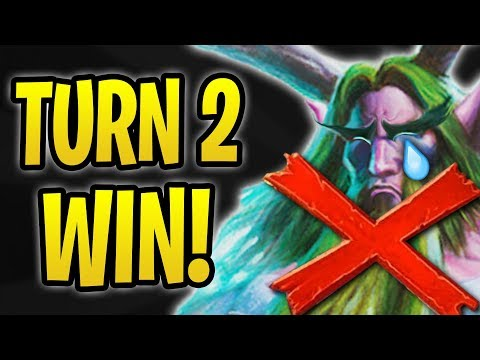 How to WIN on TURN 2! | Anti-Combo Warlock vs Druids | The Boomsday Project | Hearthstone