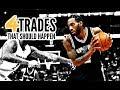 4 NBA Trades That Should Happen This Offseason: Kawhi Leonard * DeAndre Jordan