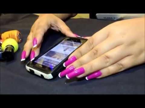 HavanaMars' long natural nails recites Baudelaire (video 14)