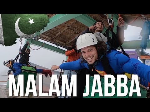 We Ride On Pakistan's Longest Zip Line! | Pakistan Travel Vlog | 206