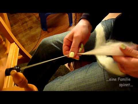 Spinngrundlagen #1 – Spinnen lernen am Spinnrad (HD)