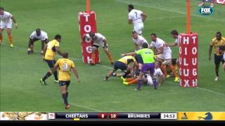 Cheetahs v Brumbies Rd.5 2016 | Super Rugby Video Highlights