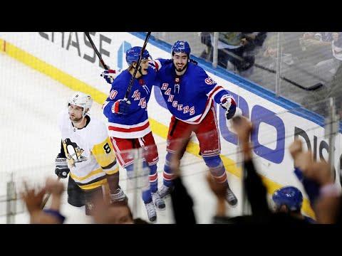 Video: Rangers stun Penguins in overtime for comeback win
