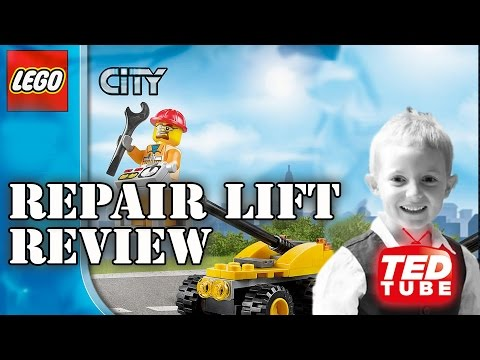 LEGO City Repair Lift (30229) - Review by TedTube