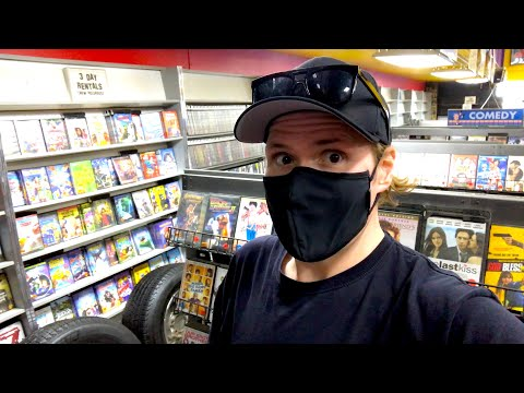 Movie Hunting : Out of Print Blu-ray/Dvds at the Retro Video Rental Store