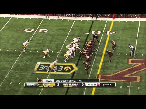 Ra'Shede Hageman vs Iowa 2013 video.