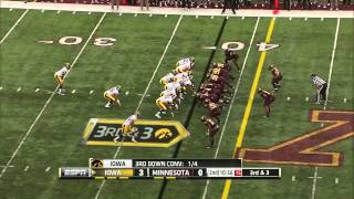 Ra'Shede Hageman vs Iowa (2013)