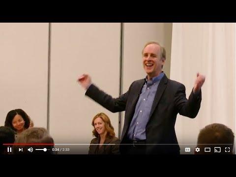 Charles Marshall Humorous Motivational Speaker Demonstration Video