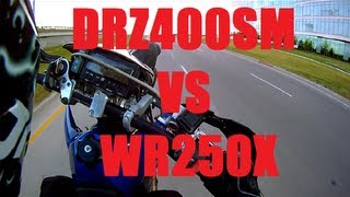 5. DRZ400SM vs WR250X