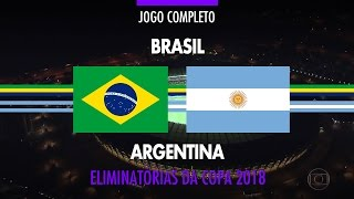 Download Video Jogo Completo - Brasil x Argentina - Eliminatórias da Copa 2018 - 10/11/2016 MP3 3GP MP4