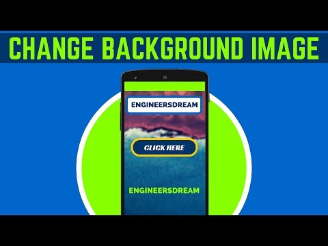 12. HOW TO SET BACKGROUND IMAGE IN ANDROID STUDIO | ANDROID APP DEVELOPMENT